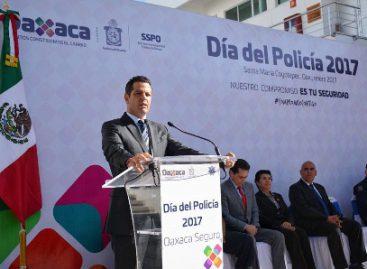 Ratifica gobernador su compromiso con elementos policiales de la SSPO