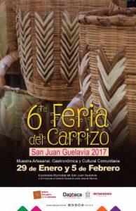 6ª Feria del Carrizo en San Juan Guelavía.