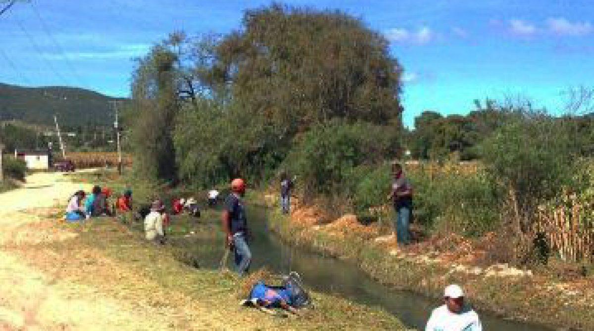 Fomentan conservación de recursos naturales en Tamazulapan, Oaxaca