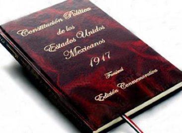 """Avala Senado declarar 2017 """"Año del Centenario de la Constitución"""""""