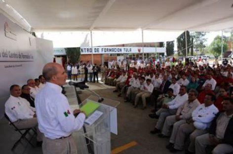 Inauguran Centro de Formación Tula en la Refinería Miguel Hidalgo