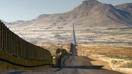 La última, el muro fronterizo.