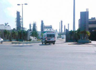Atiende Pemex incidente en la Refinería de Madero; un muerto y tres intoxicados