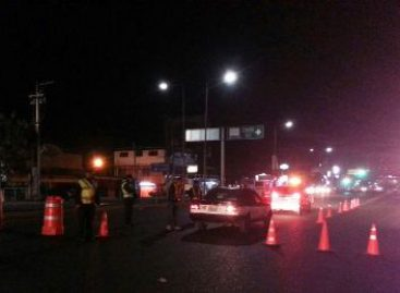 Arresta Policía Vial de Oaxaca a 17 conductores en Operativo Alcoholímetro