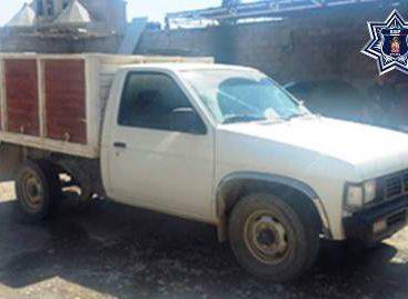 Recuperan camioneta y motocicleta con reporte de robo vigente en Oaxaca