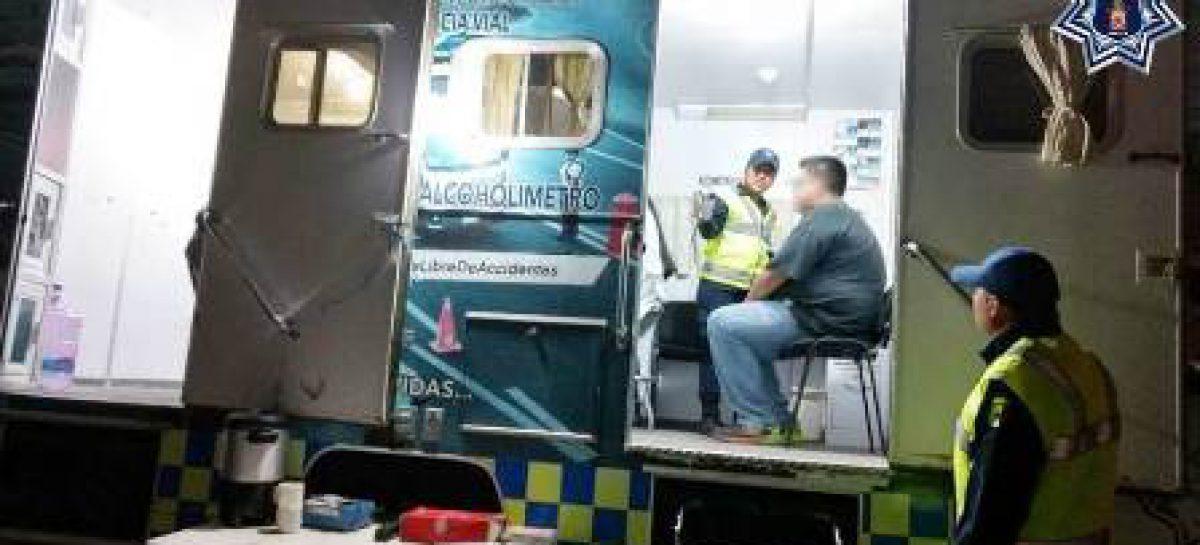 Arrestados 37 conductores con niveles de alcohol en aliento superior a lo permitido