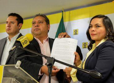 Denuncia PRD al gobierno federal por desviar recursos de 40 mmdp, para campaña del PRI en EdoMex
