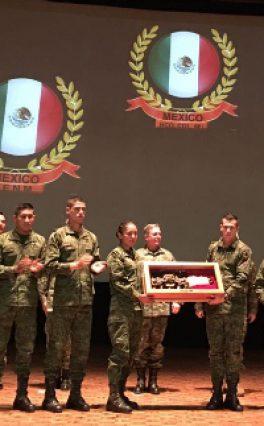 """Heroico Colegio Militar, primer lugar de la Competencia Internacional """"Chimaltlalli 2017"""""""