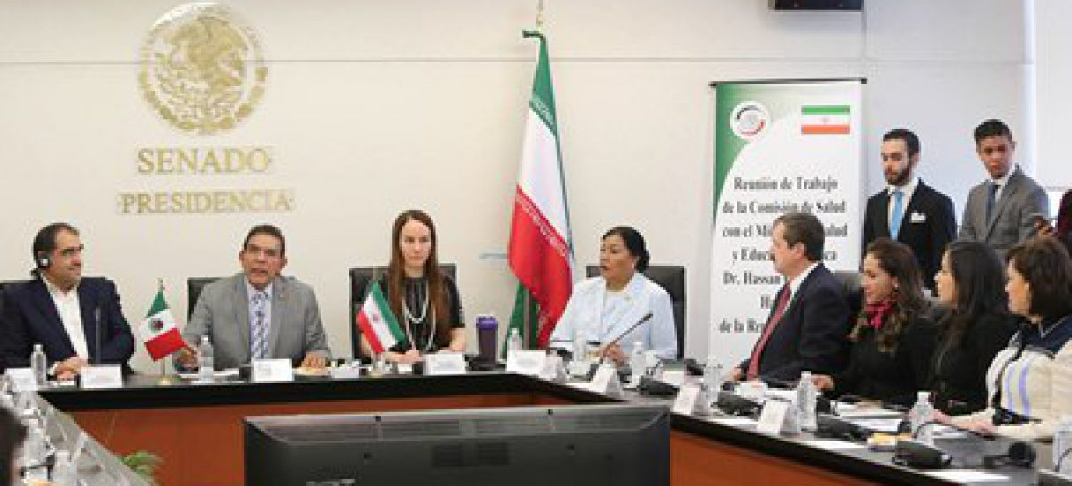 México e Irán se comprometen a fortalecer intercambios académicos y en materia de salud