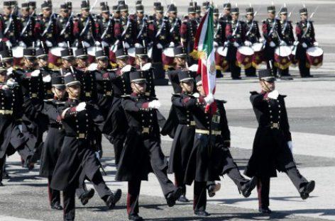 Participan cadetes en el CLXXIII Aniversario de la Independencia de la República Dominicana