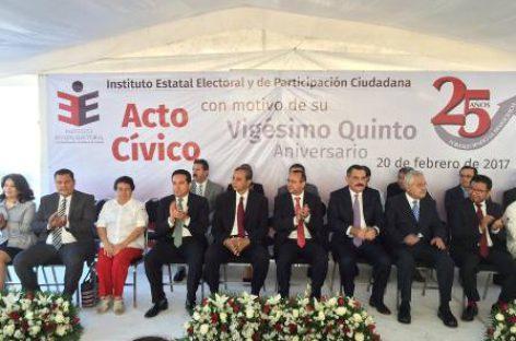 Cumple IEEPCO 25 años fortaleciendo la democracia en Oaxaca