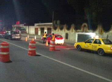 17 arrestados en Operativo Alcoholímetro en Tuxtepec y Oaxaca de Juárez