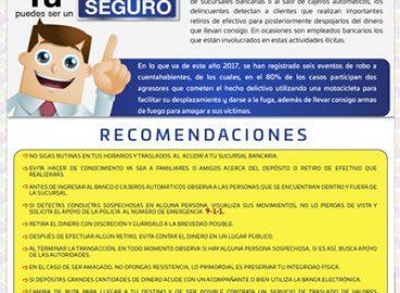 """Inician campaña """"Cuentahabiente Seguro"""" en Oaxaca"""