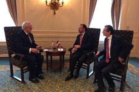 Fortalecen secretarios Videgaray Caso y Guajardo Villarreal lazos con Canadá