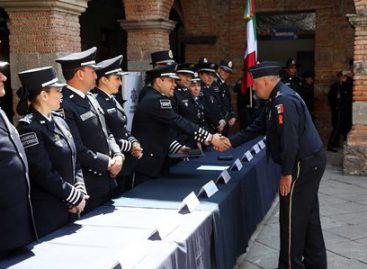 Entrega CNS-PF condecoraciones a integrantes de la división de Gendarmería
