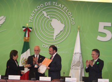 Tratado de Tlatelolco, aporte invaluable de América Latina y el Caribe a la paz mundial
