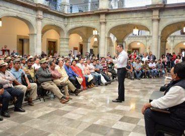 Se reúne Alejandro Murat con líderes y militantes del MULT