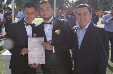 Suma gobierno CDMX a población LGBTTTI a Bodas Colectivas 2017