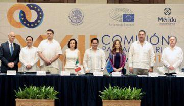 Pactan legisladores mexicanos y europeos acuerdo contra el proteccionismo y el populismo