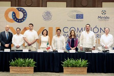 Pactan legisladores mexicanos y europeos