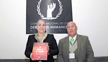Presenta la CNDH libro sobre sistema penitenciario