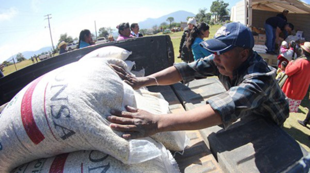 Prioriza Diconsa abasto en poblaciones de la Sierra Gorda de Querétaro