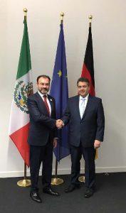 Sostuvo encuentros bilaterales con cancilleres de Alemania, Indonesia y Reino Unido.