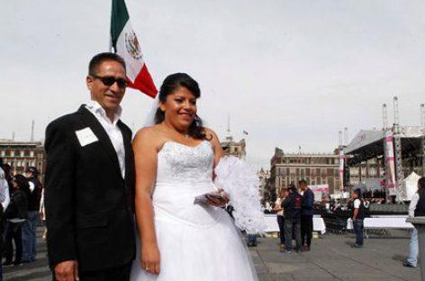 Da gobierno CDMX regalo de San Valentín a futuros matrimonios