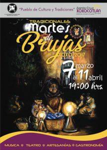 El origen de los Martes de Brujas data de la época colonial, cuando el fraile Domingo de Santa María, impulsó la edificación del Templo Católico local.
