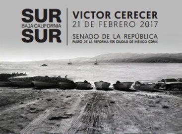 """En el Senado, inauguran la exposición sobre dibujo de paisaje """"Sur Baja California Sur"""""""