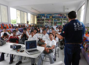 Reciben más de seis mil alumnos oaxaqueños talleres sobre prevención del delito: SSPO