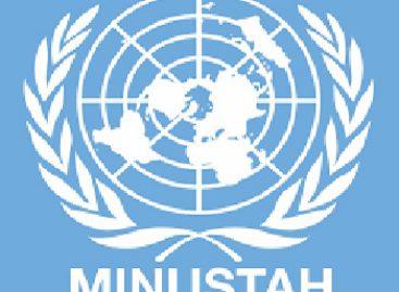 Visita Delegación de México a la Misión de Estabilización de las Naciones Unidas en Haití