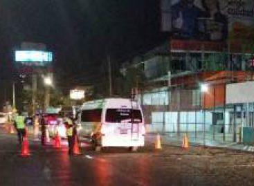 Confirma Policía Vial estatal, ocho conductores arrestados en operativo Alcoholímetro