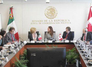 Parlamentarios de México y Canadá a favor de fortalecer la diplomacia de ambas naciones