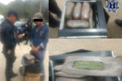 Por delitos contra la salud es detenido en San Pedro Pochutla, Oaxaca
