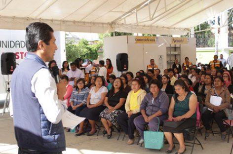 "Llega ""Caravana por la familia xoxeña"" a la cabecera municipal de Xoxocotlán"