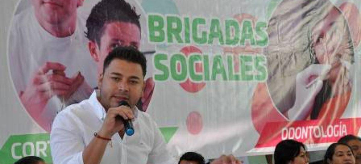 Atienden gobiernos estatal y municipal de Santa Lucía del Camino a pobladores con Brigadas Sociales