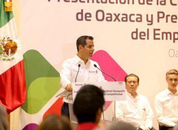 Presentan Comisión para el Desarrollo de Clústeres Competitivos en Oaxaca