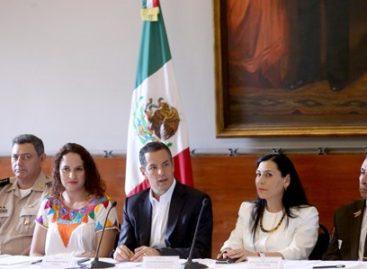"""Instalan grupo de coordinación """"Somos Mexicanos"""" en apoyo de migrantes oaxaqueños"""