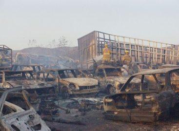 Provocó sólo daños materiales incendio en Encierro Oficial en San Bartolo Coyotepec