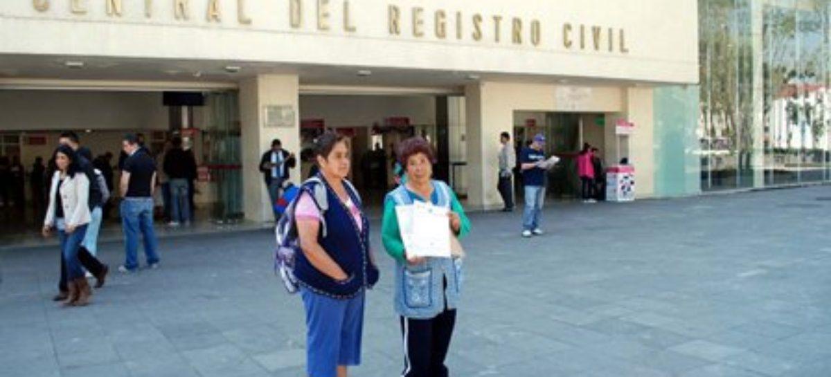 Expide Registro Civil CDMX actas de nacimiento en menos de un minuto