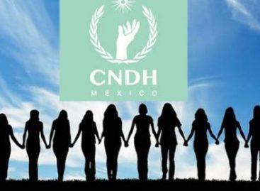 Urge CNDH empoderar a mujeres e impulsar la igualdad de género