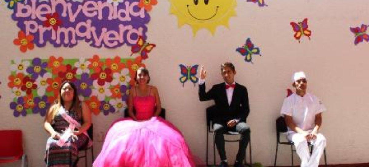 Lidia Carolina Sánchez y Ricardo López, electos reyes de la Primavera IMSS 2017