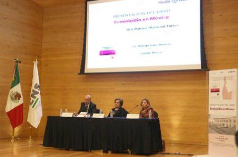 """Reconocen aportación del libro """"Feminicidio en México"""" en la actuación del primer respondiente"""