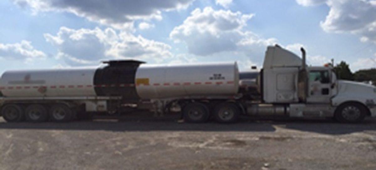 Aseguran 46 mil litros de hidrocarburo presuntamente sustraídos de manera ilegal