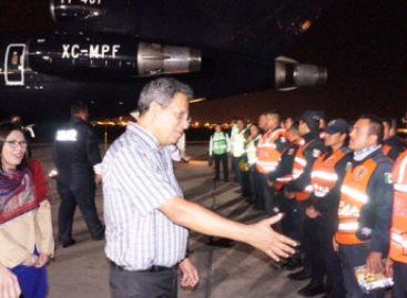 Arriba equipo de expertos mexicanos a Perú para asistir a población afectada por inundaciones