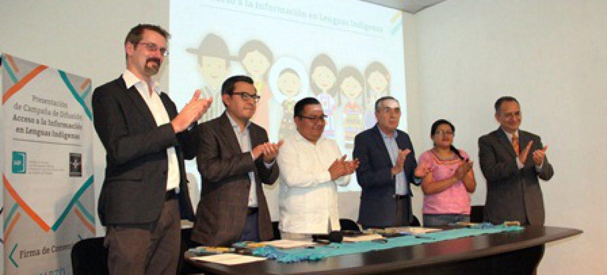 Presenta IAIPO campaña de difusión de acceso a la información en lenguas indígenas