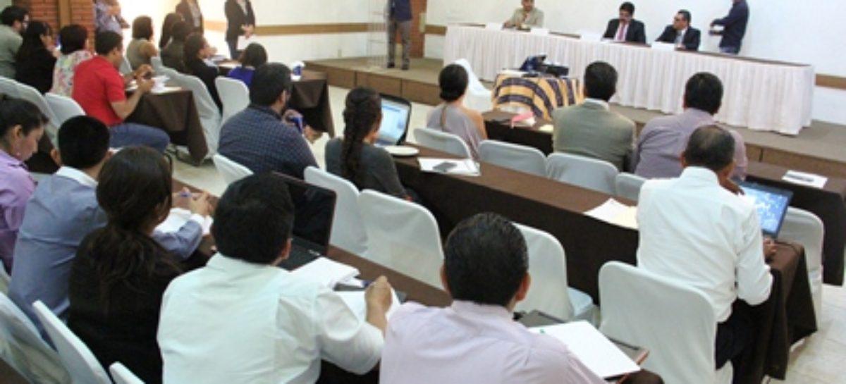 Capacita IAIPO a 90 entes del poder ejecutivo para la carga de información en SIPOT
