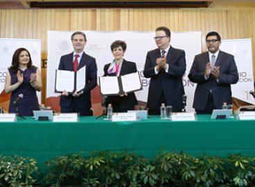 Firman convenio de colaboración TEPJF y SEP; reconocerá estudios de posgrado y especialidades
