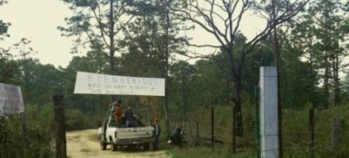 Exigen proteger integridad y vida de familias indígenas de Nuevo San Andrés Chimalapas